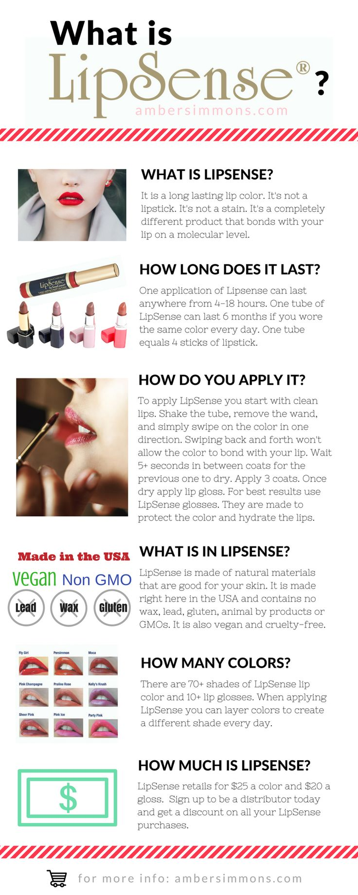 What is LipSense? It's not a lipstick. It's not a lip stain. It's a completely different product.
