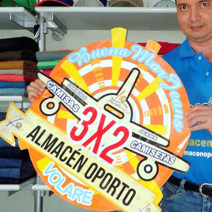 CEO @JorgeEMoncadaA promocionando mes de cometas y descuentos #Cartago