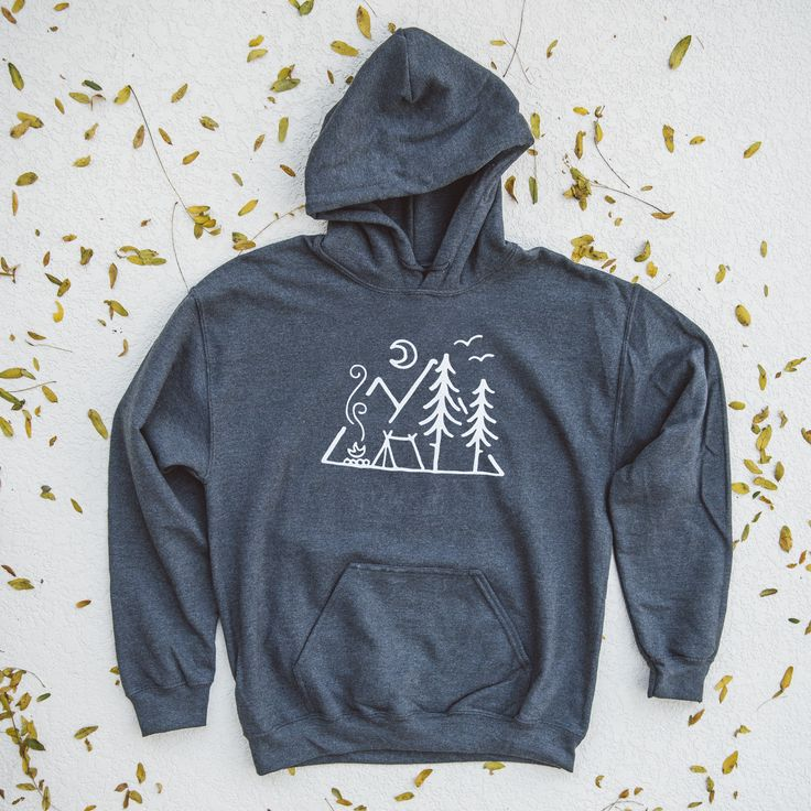 Check out this stellar design by artist David Powell. Printed on a super soft heather grey hoodie. This hoodie will quickly become your new favorite. Check out more of David's awesome designs o...