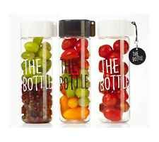 BPA Free Tritan Clear Water Bottle Eco Tumbler Cute Handy Food Container Korea