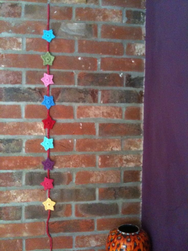 star garland can be made in any colours https://www.facebook.com/LittleBlackBarn