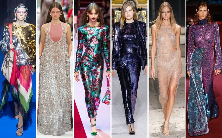 Tendenza moda Primavera Estate 2018: paillettes e cristalli - Vogue.it  ||  Mettersi in luce. Brillare. Illuminare. Da mattina a sera.  Se una volta le paillettes e i cristalli erano una prerogati http://www.vogue.it/moda/tendenze/2017/10/03/tendenza-moda-primavera-estate-2018-paillettes-cristalli/?utm_campaign=crowdfire&utm_content=crowdfire&utm_medium=social&utm_source=pinterest