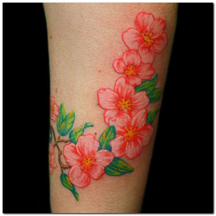Flower Tattoos   Orchid Flower Tattoos and Tattoo Designs Pictures Gallery