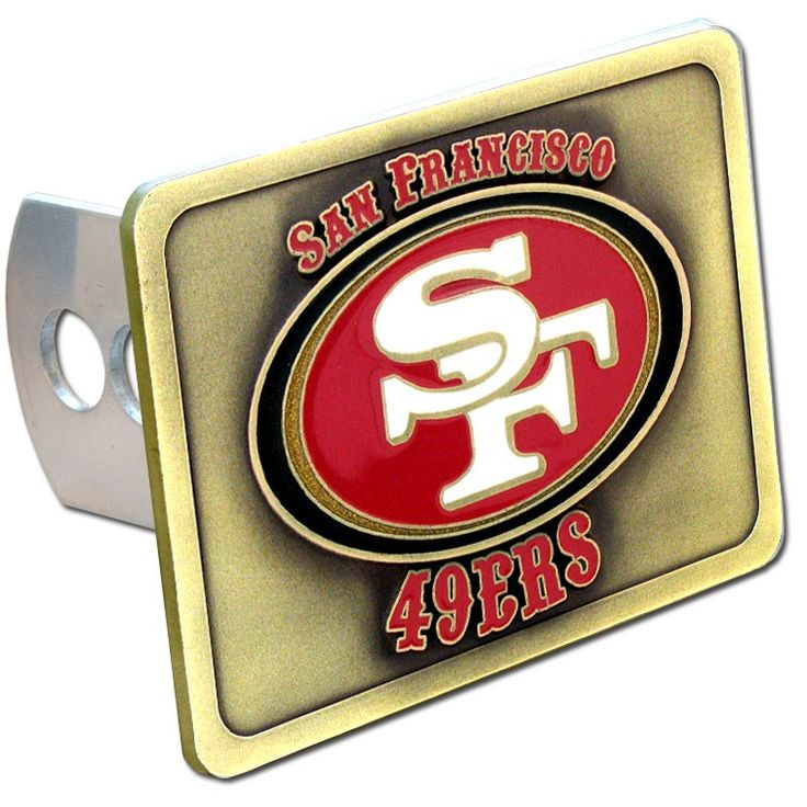 """Checkout our #LicensedGear products FREE SHIPPING + 10% OFF Coupon Code """"Official"""" San Francisco 49ers Hitch Cover Class II and Class III Metal Plugs - Officially licensed NFL product Licensee: Siskiyou Buckle Fits class II 1.5 inch receivers & class III 2.5 inch Fully cast metal hitch with enameled details Super tough hitch plates that are 1.4 inch thick metal San Francisco 49ers logo with enameled colors  - Price: $37.00. Buy now at…"""