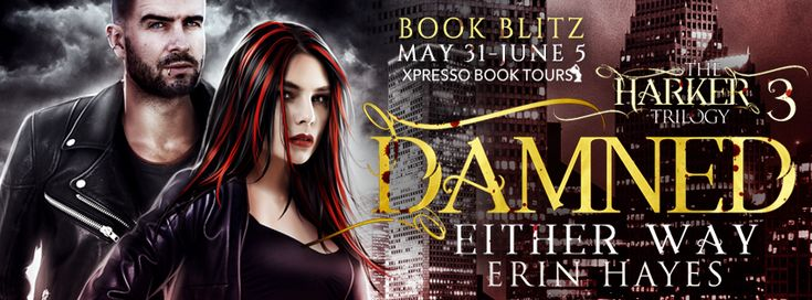 ♥Enter the #giveaway for a chance to win a $50 GC♥ StarAngels' Reviews: Book Blitz ♥ Damned Either Way by Erin Hayes ♥ #gi...