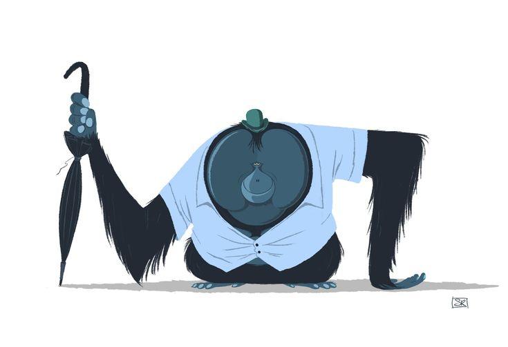 seb rouxel: Apes 2