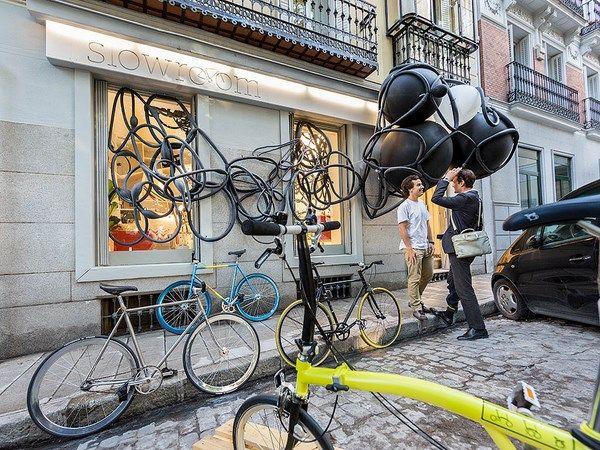 slowroom, bike shop in madrid, tienda de bicis en madrid