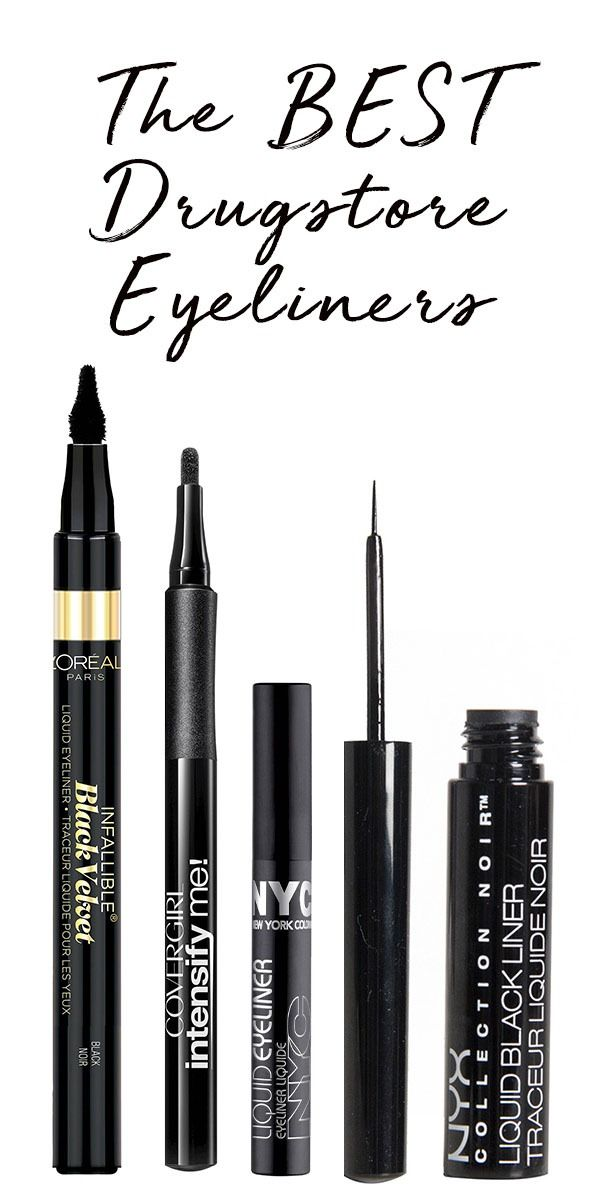 These drugstore eyeliners won't smear, and they're editor approved. Need we say more?