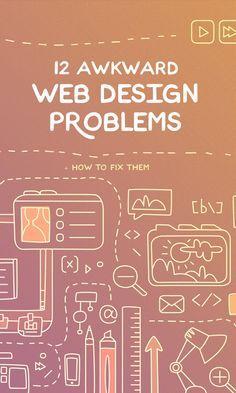 [Webdesign] 12 solutions simples à des problèmes (fâcheux) de webdesign || 12 awkward web design problems #UX #UI