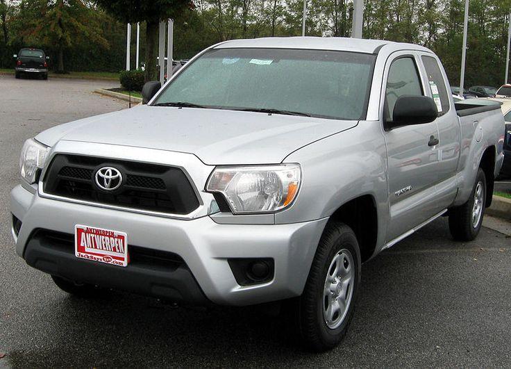 2012 Toyota Tacoma -- 10-19-2011 - Toyota Tacoma - Wikipedia