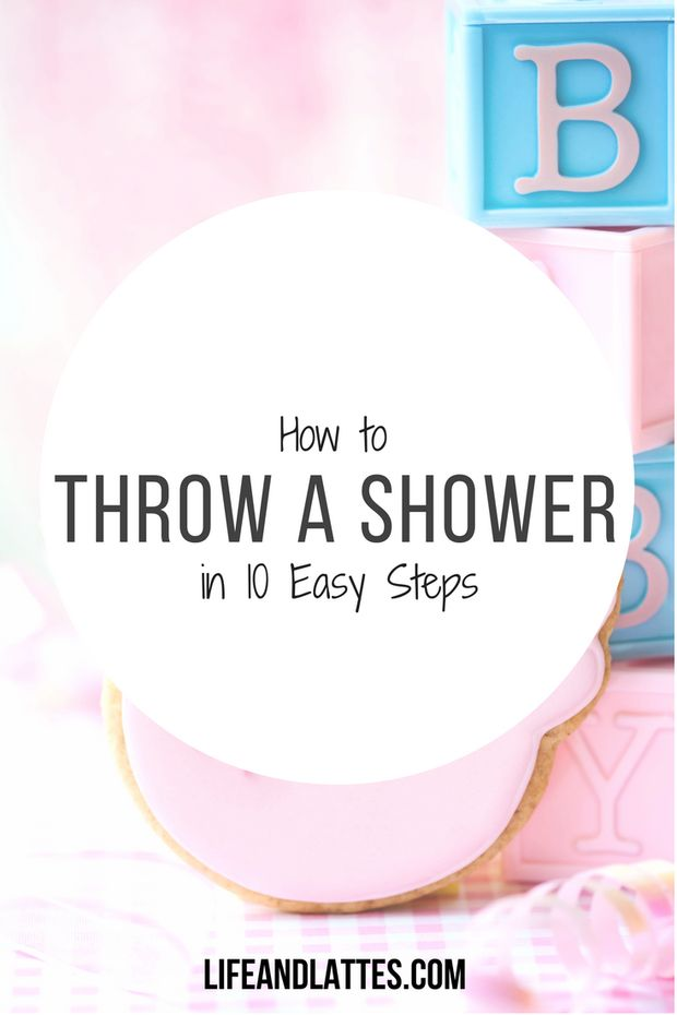 Have a friend who is getting married or having a baby soon? Don't fret over throwing the shower, just check out these ten EASY steps to help you rock it out! :) Life & Lattes | Bridal Shower | Couple's Shower | Baby Shower | Decorations | Menu