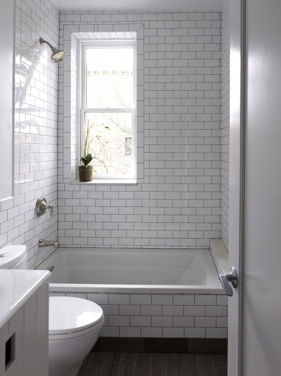 White Subway Tile Bathroom Design, Pictures, Remodel, Decor and Ideas