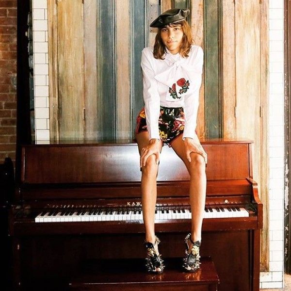 My world: Mari Giudicelli while pretending to be Matilda ;)   more on hey-woman.com