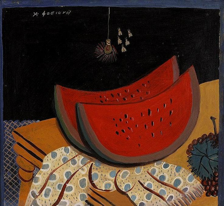 Alecos Fassianos, Watermelon