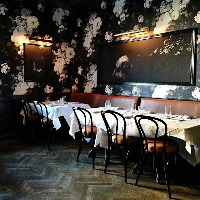 "Wallpaper. Floors chairs. ""Team dinner tonight @finca_slc to celebrate getting to 55k followers! The tapas were just as good as that wallpaper!!! And thank you so much for all of…"""