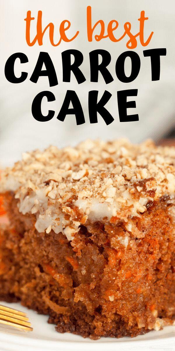 J Alexanders Carrot Cake Recipe Full Copycat Version Recipe Carrot Cake Recipe Cake Recipes Best Carrot Cake