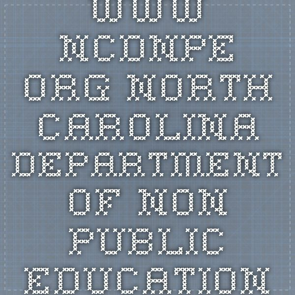 www.ncdnpe.org North Carolina Department of Non Public Education - HS Requirements