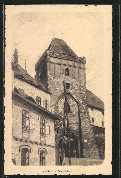 City Žatec / Saaz   Ústecký kraj / Region Aussig   old Postcards