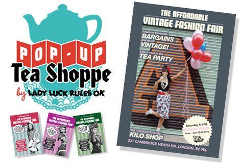 Lady Luck's Pop-Up Tea Shoppe
