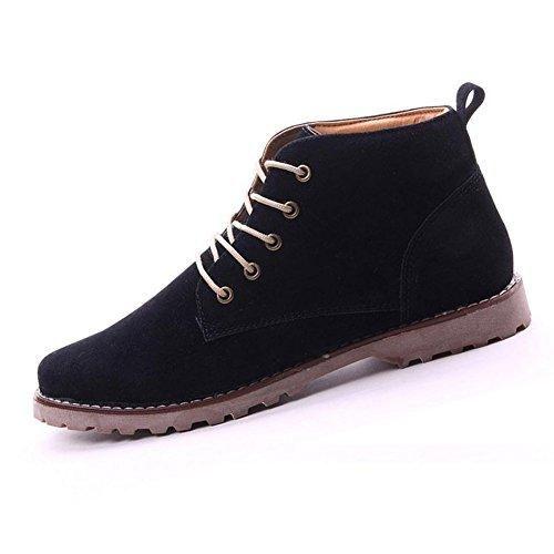 Oferta: 16.16€. Comprar Ofertas de Gleader Nueva moda britanicos para hombre Casual de encaje gamuza Botines Mocasines Zapatillas de deporte Negro ( Tamano:39 ) barato. ¡Mira las ofertas!