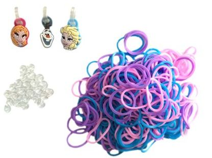 Disney's Frozen Loom Band Kit With Charms For Only $5.99!