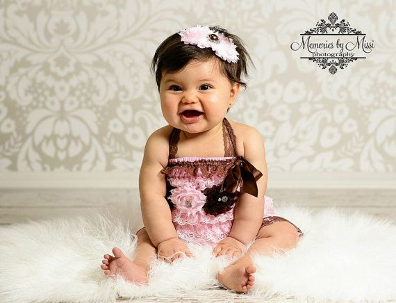 Exclusive Chocolate pink Petti Romper, Spring rompers, baby girls petti Rompers, Photography props, Baby petti Rompers,birthday outfit on Etsy, $22.99