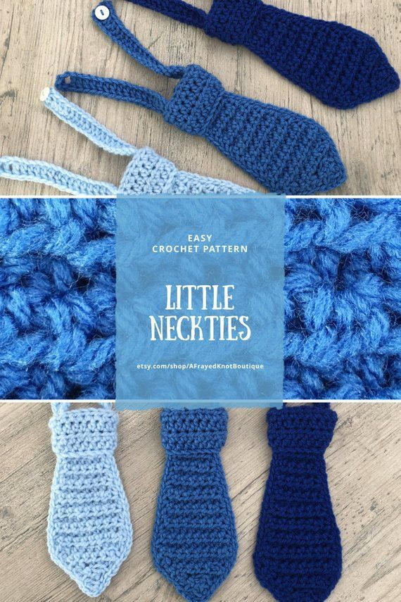 Crochet Pattern Baby Necktie/ Crochet Toddler Necktie/ Toddler | Etsy