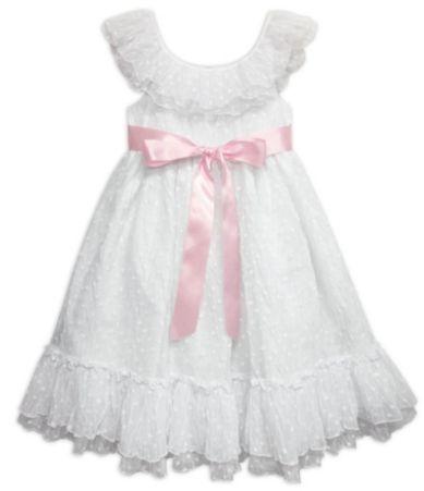 Pippa & Julie 2T-6X Flutter-Sleeve Dress | Dillards.com