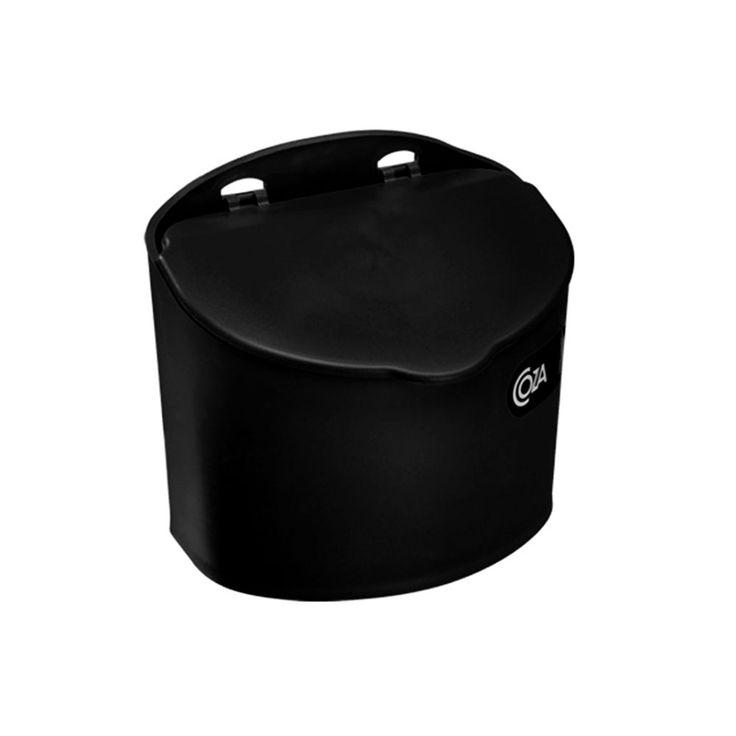 Saleiro de plástico Coza preto 500 ml - 1276 - Utilplast