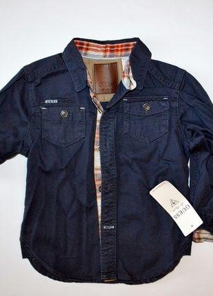 Kup mój przedmiot na #vintedpl http://www.vinted.pl/odziez-dziecieca/koszule-i-t-shirty/11784200-koszula-guess-dziecieca-3-lata-nowa