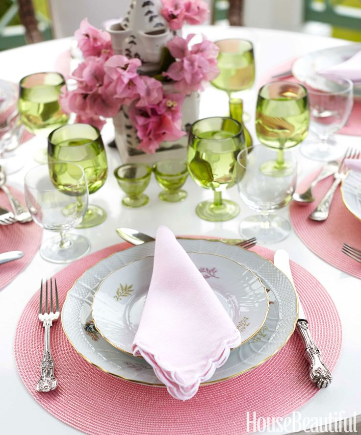 House Beautiful.Com 212 best table setting ideas images on pinterest | table settings