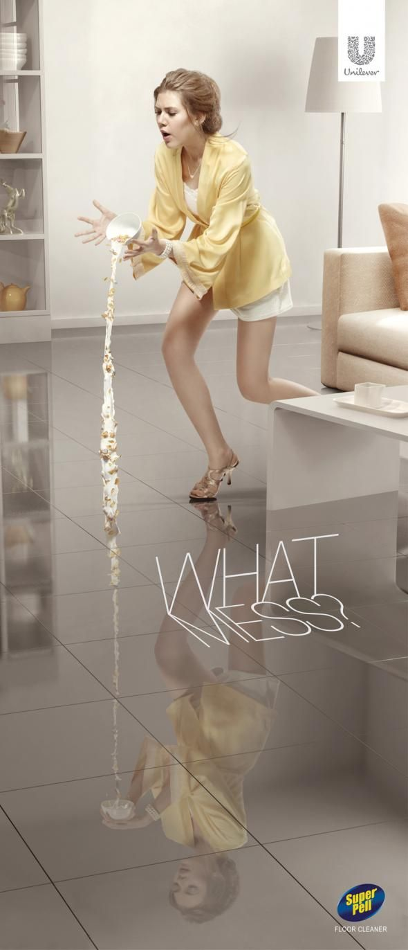 Super Pell Floor Cleaner: No mess, Cereal http://adsoftheworld.com/media/print/super_pell_floor_cleaner_no_mess_cereal