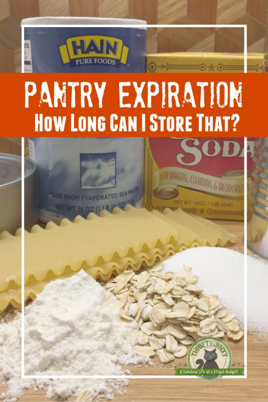 These Pantry Expiration Dates guidelines will help…