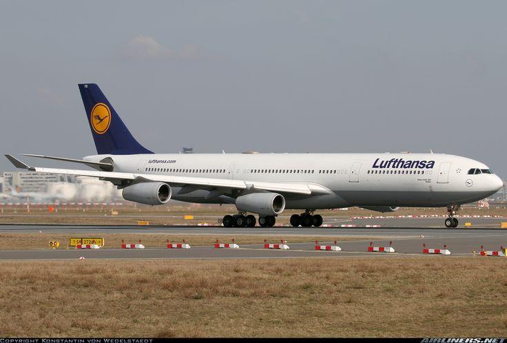 Airbus A340-313, Lufthansa, D-AIFD, cn 390, 241 passengers, first flight 8.2.2001, Lufthansa delivered 16.3.2001. His last flight 24.5.2016 Nagoya - Frankfurt. Foto: Frankfurt, Germany, 9.3.2016.