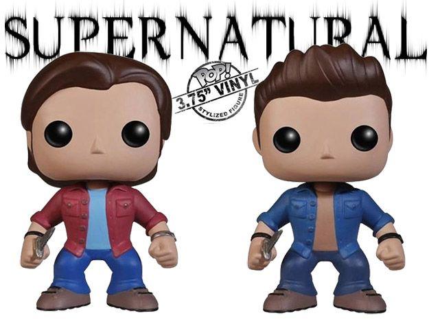 Bonecos Funko Pop Supernatural