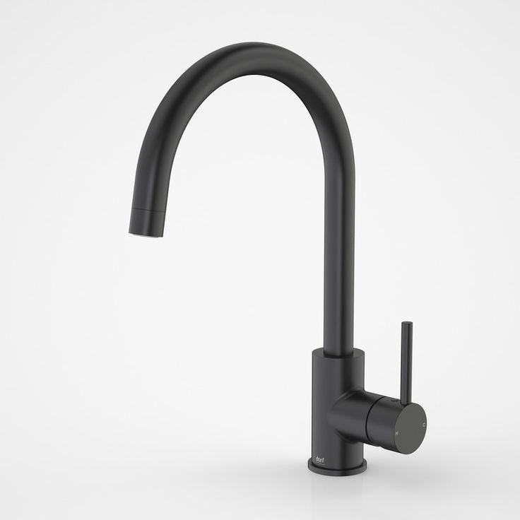 Dorf | Mixer Taps - Poseidon - Poseidon Sink Mixer Black