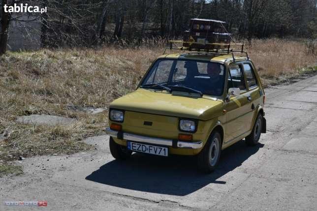 Fiat 126 IKONA POLSKIEJ Motoryzacji 1983 w Zduńskiej Woli - image 3