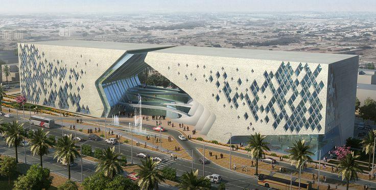 Arch2o-Basra Cultural Center Dewan Architects & Engineers (2)