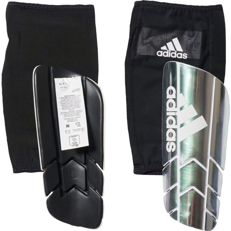 adidas Ghost Pro Soccer Shin Guards, Gray