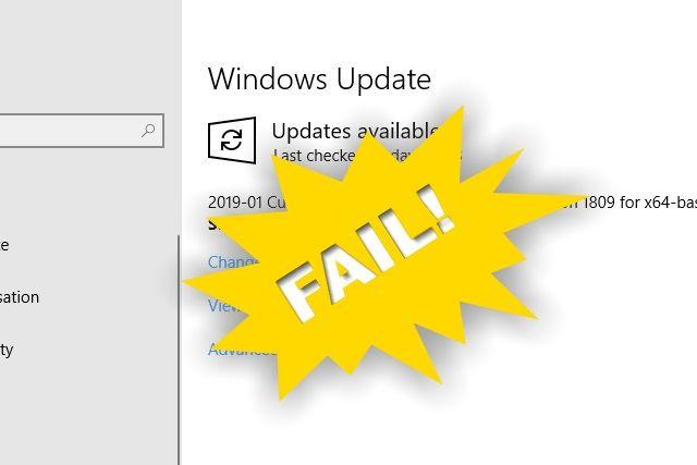 Windows Update fail | Security in 2019 | Windows server 2012