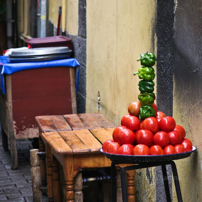 Street food at Diyarbakır