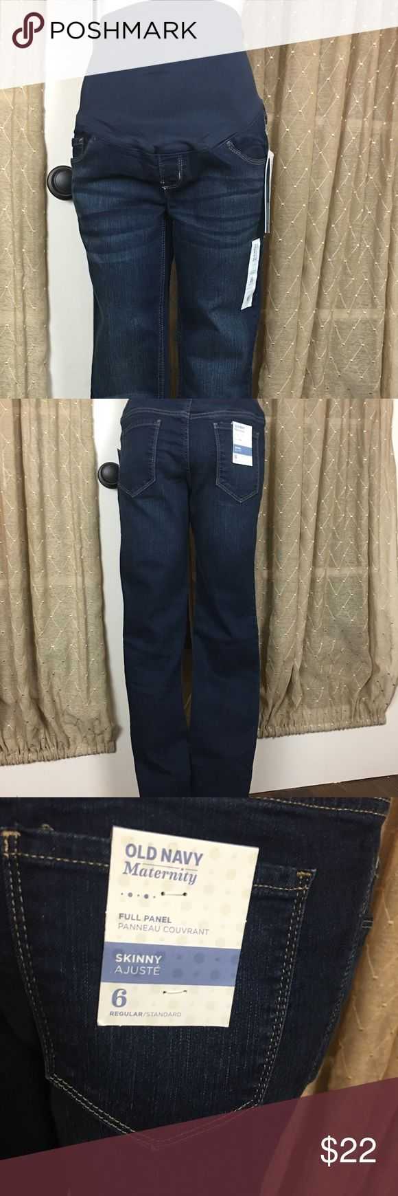 NWT - Old Navy Maternity Jeans NWT - Old Navy Maternity Pants - skinny fit Old Navy Jeans