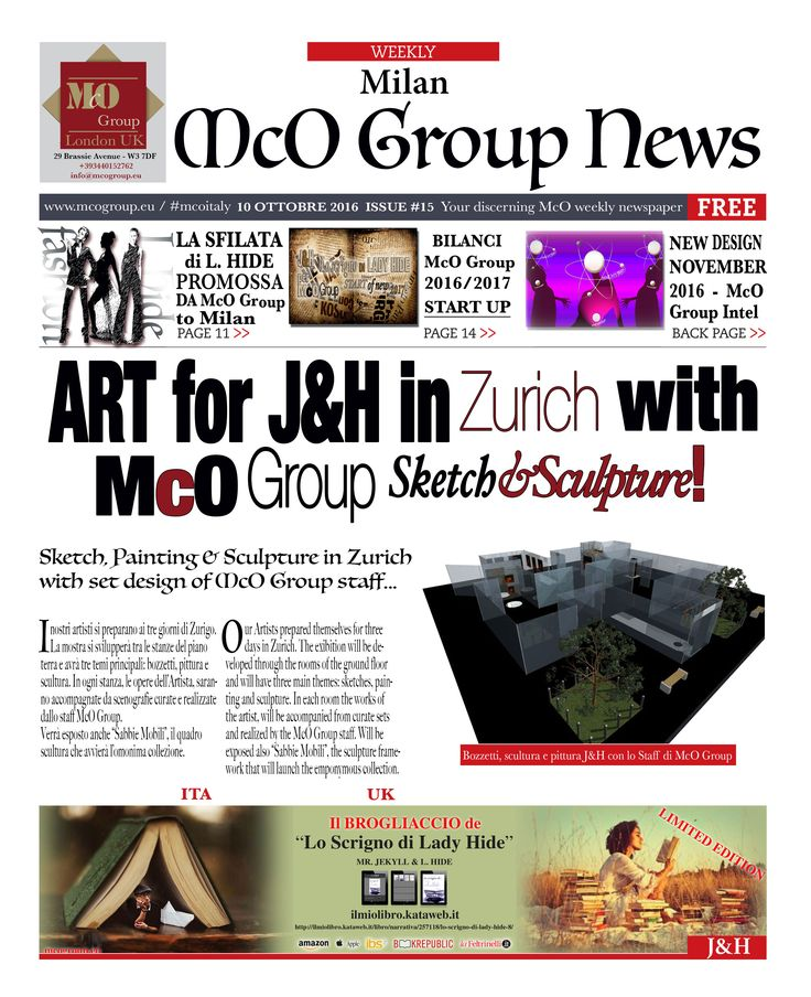 MCO GROUP NEWS CUSTOM-MADE COMMUNICATION  www.mcogroup.eu  #mcoitaly #mconews #milanocity #fashion #style #love #custom #made #coolinmilano #communication