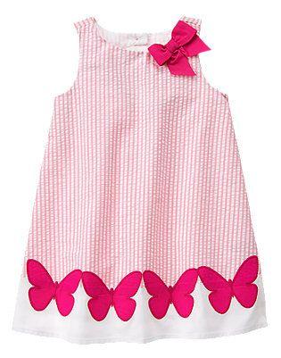 Island Hopper- Pink Seersucker Dress (14.43/36.95)