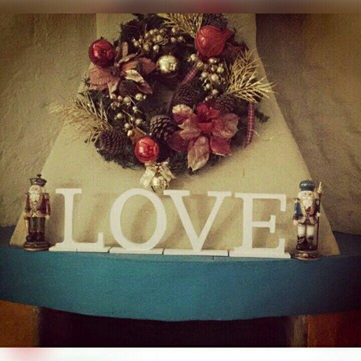 LOVE en mdf. Letras decorativas. Contacto: @am_shanti