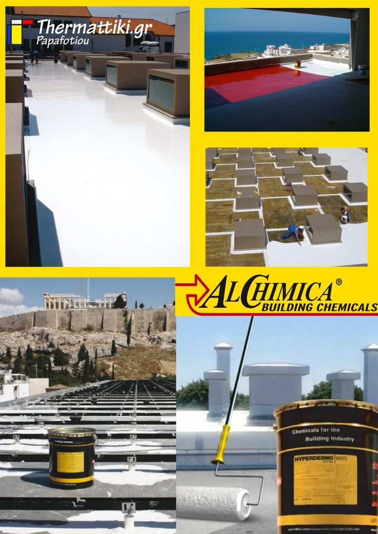HYPERDESMO - World's most trusted waterproofing product  by ALCHIMICA