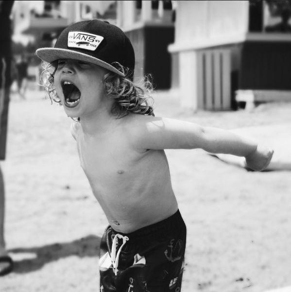 Wild kid