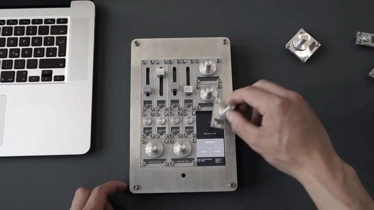 """Através de um iPad, Modular Interface é um controlador físico para programas de audio digital, luz, e video. O setup de knobs, botões e faders pode ser alterado ao nosso gosto. Inovador, com um design """"clean"""" e simples, é um produto honesto, útil, compreensível e consiste. O único contra é que sendo eu um utilizador de DAW's (Digital Audio Workstations) vejo este produto um pouco limitado pois para criar um projecto básico de audio digital seria necessário mais do que um iPad para definir a…"""