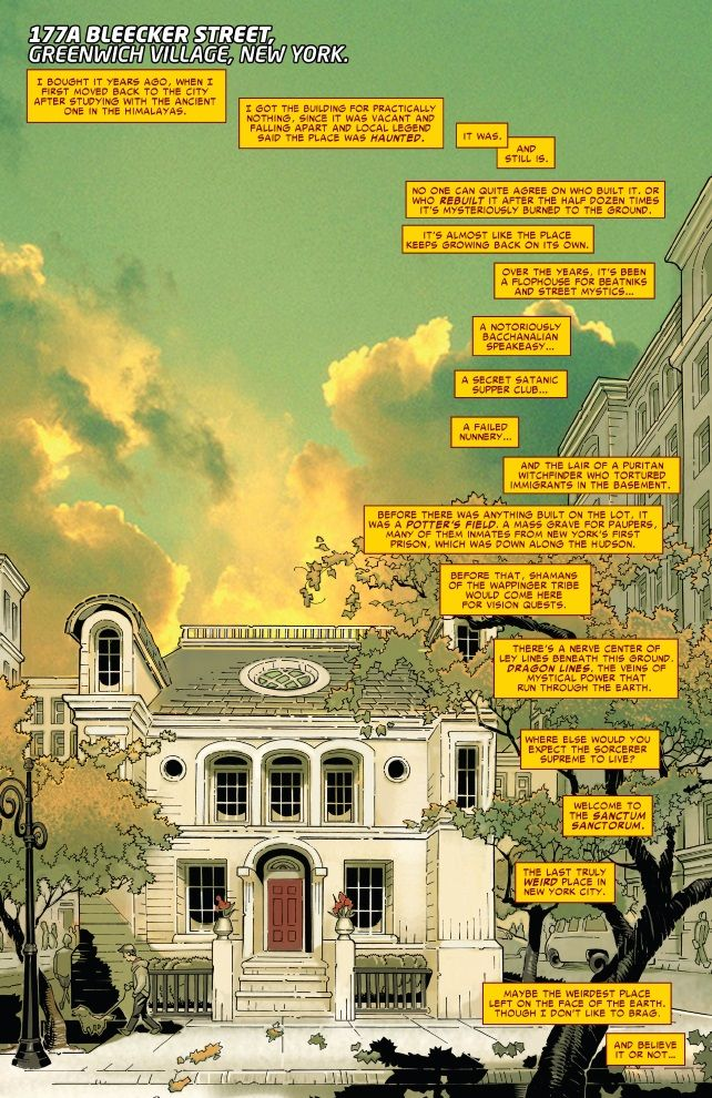 Sanctum Sanctorum from Doctor Strange #2