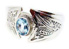 bonnie Blue Topaz 925 Sterling Silver Blue Bracelet suppiler US gift